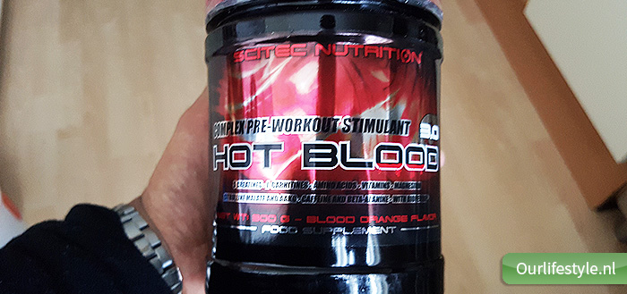 Hot Blood Pre Workout van Sci Tec