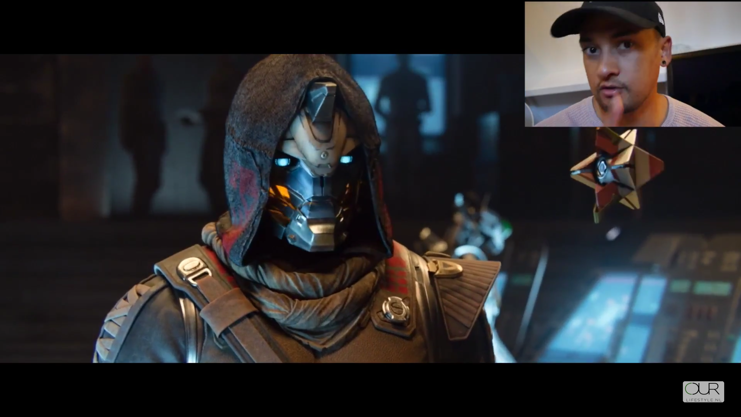 Screenshot van video review - een uitstekende verhaallijn in Destiny 2