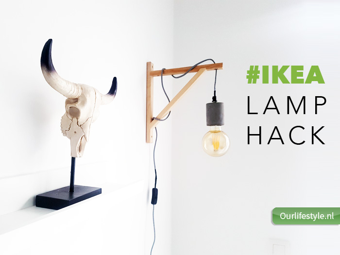 Eindresultaat ikea Ekby hack