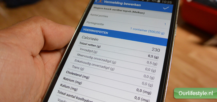 My Fitness Pal - Product omschrijving