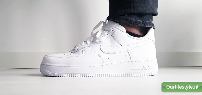 Nike Air Force 1 is een must have! Lifestyle, interior
